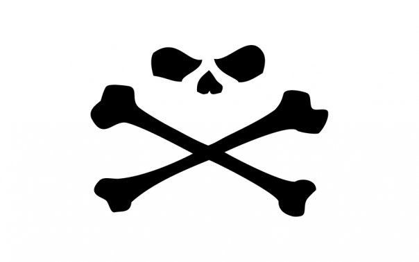 SKULL AND BONES HUMOURTRON. Make a bloody funny, alright